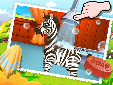 Baby Zebra SPA Salon - Makeover Game For Kids【遊戲APP玩免費】-APP點子