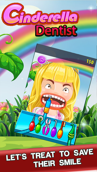 'A Cinderella Dentist Play Teeth Whitening Implants Cleaning Mania Free Games For Kids