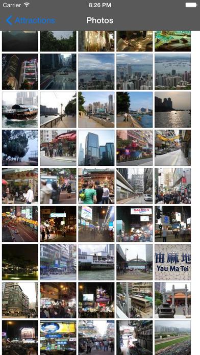 Hong Kong Travel Guide Offline iPhone Screenshot 3