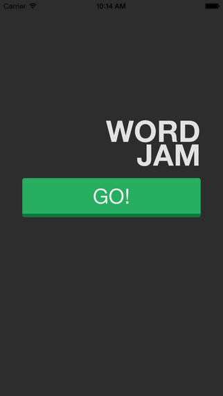 Word Jam - a fun scramble jumble word game without friends