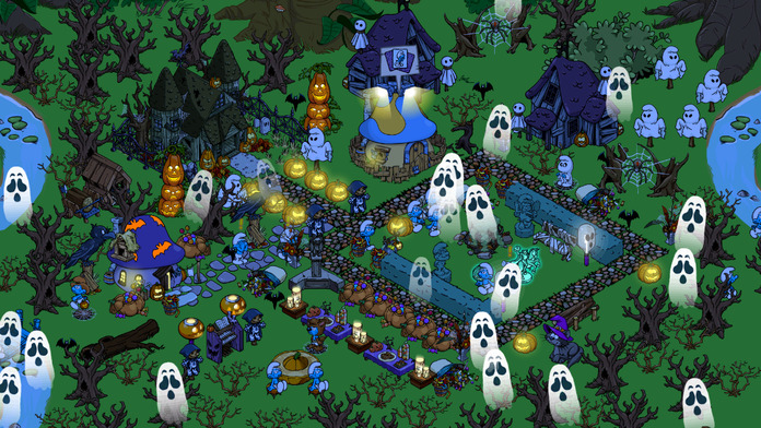 Smurfs' Village - iPhone Mobile Analytics and App Store Data