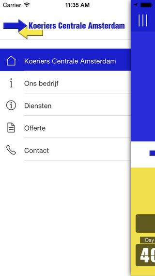 Koeriers Centrale Amsterdam