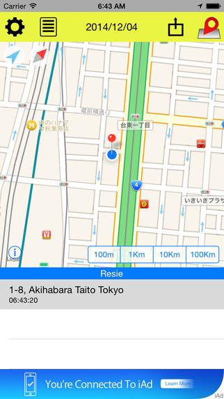 Location Report for person