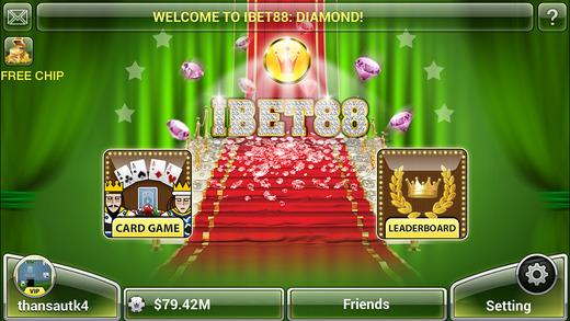 iBet88 : Game đánh bài tiến lên phỏm Online