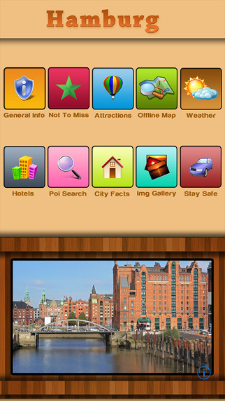 Hamburg Offline Map Travel Guide