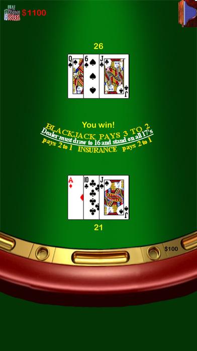Blackjack 21 casino rules