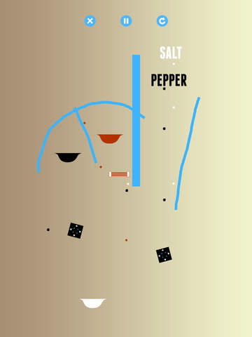 Salt & Pepper: A Physics Game