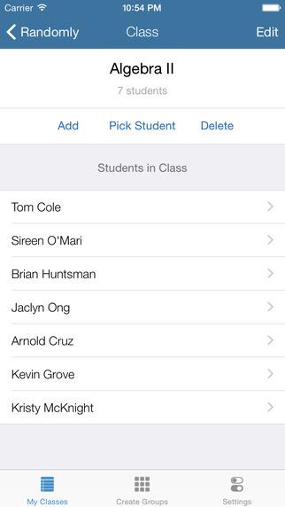 Randomly - Random Student Selector