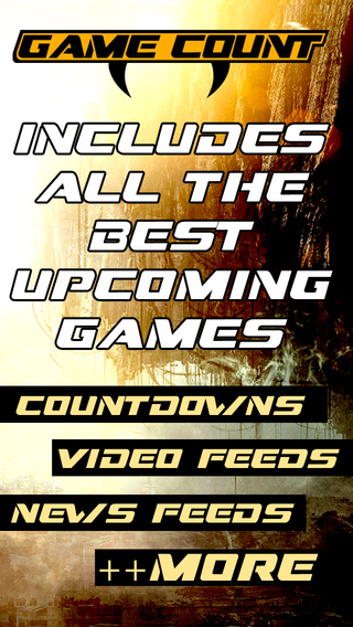 Game Count - Upcoming game countdowns news videos and more
