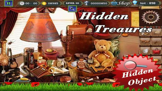 Hidden Treasures Hidden Object