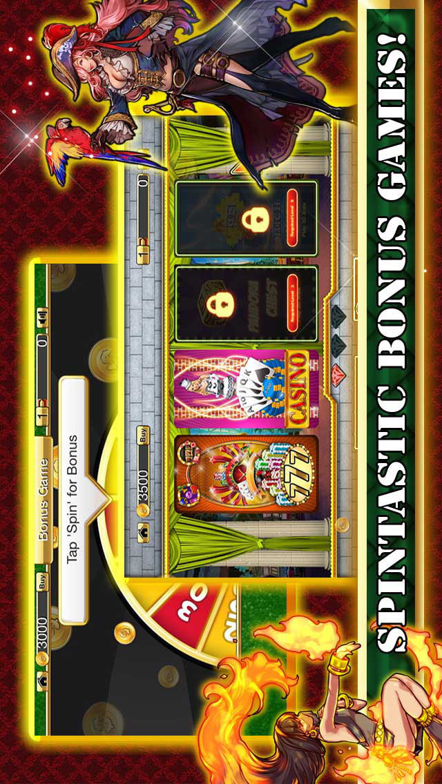 `` Ace Mystic Fire Slots HD - Top New Casino with Lucky Spin Roulette