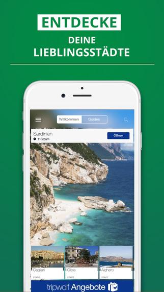 Sardinien - dein Reiseführer mit Offline Karte von tripwolf Guide für Sehenswürdigkeiten Touren und