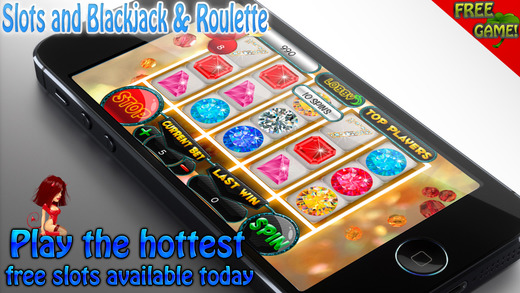 A Aamazing Precious Jewels Slots and Blackjack Roulette