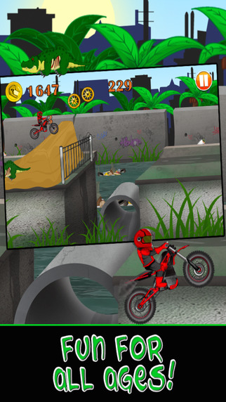 City Motorcycle Bike Race : Road Escape Game - For iPhone iPad Edition