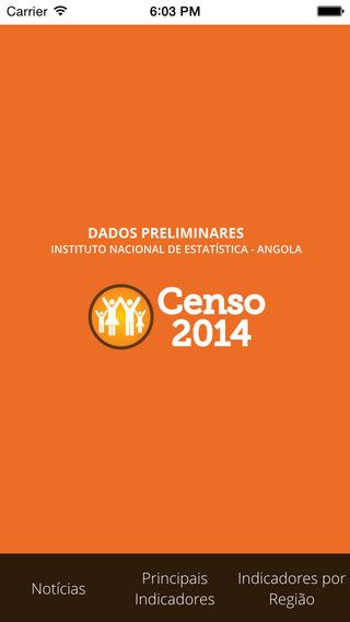 INE ANGOLA Censo 2014
