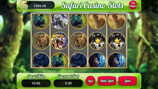 Aaron's Safari Casino Slots Machine