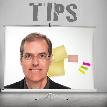 TIPS - TIps to boost your Presentation Skills LOGO-APP點子