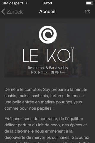 Koï Sushi-Bar screenshot 2