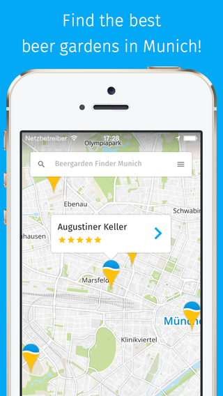 Beergarden Finder Munich