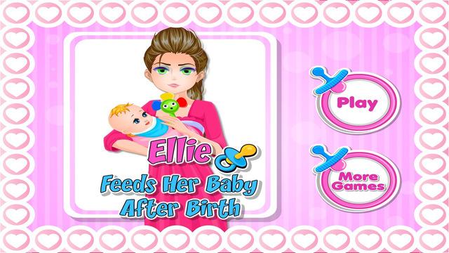 Ellie Feeds Her Baby After Birth