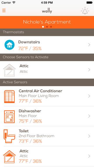 Wally - Home Sensor Network