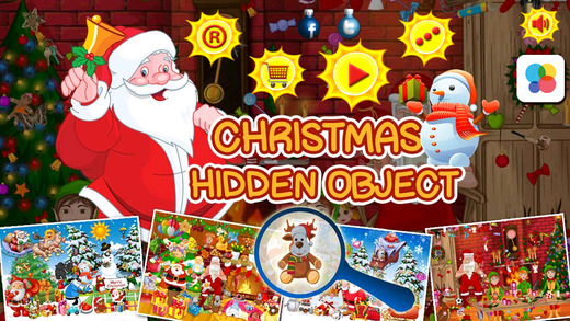 Christmas gift Hidden Objects