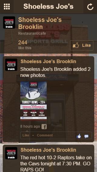 Shoeless Joe's Brooklin