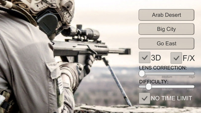 VR PRO SNIPER screenshot for iPhone