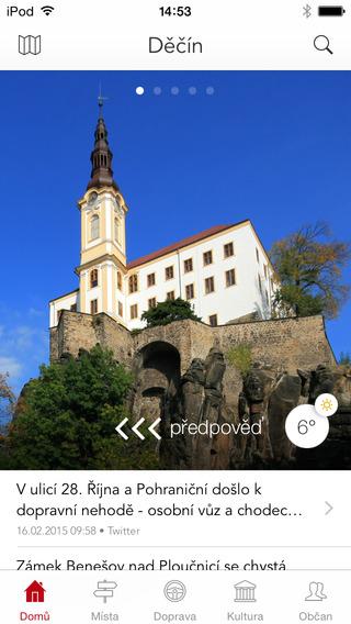 Děčín - oficiální aplikace