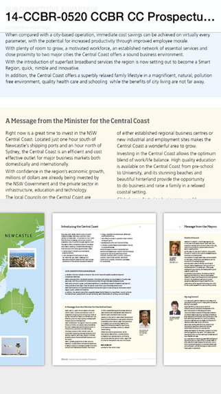 Central Coast Investment Prospectus 2014-15