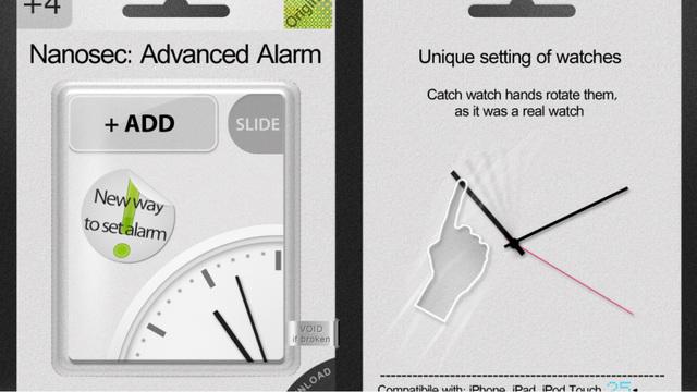 Nanosec: Advanced Alarm+