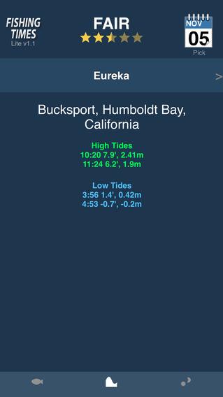 Fishing Times Pro iPhone Screenshot 3