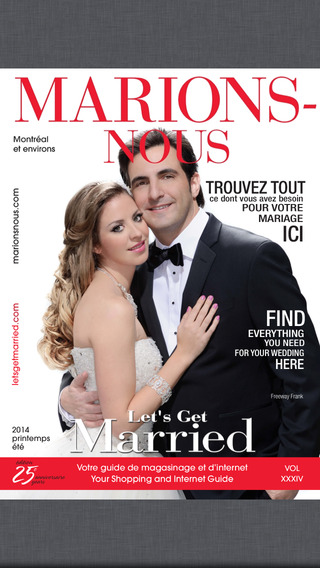 MARIONS-NOUS Let's Get Married