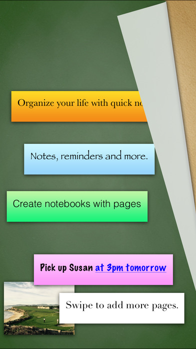 Sticky Notes for iPad iPhone Screenshot 1