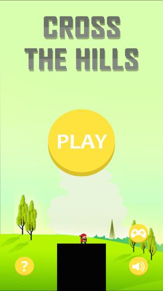Cross the hills - Free Jump