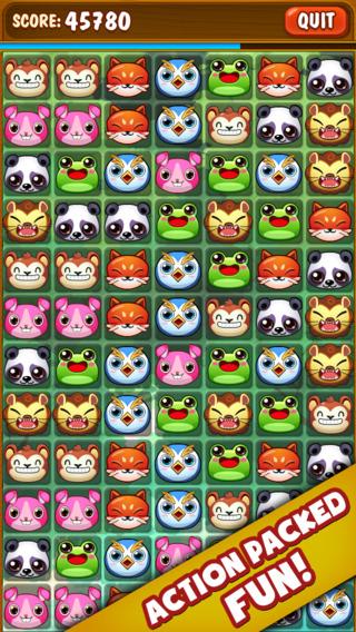 ``Animal Zoo Matching Mania - Match 3 Pet Puzzle Game