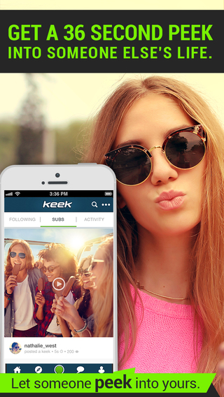 Keek Social Video Network: Watch Share the Latest Trending Videos