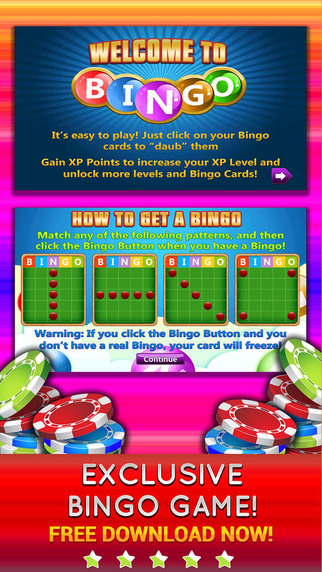 Bonanza Rush PRO - Play Online Bingo and Game of Chances for FREE