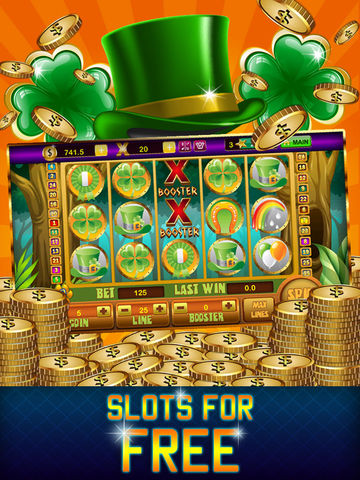 Lucky Leprechaun Slots Festival HD - Feast of St. Patrick Edition of Las Vegas Casino Slot Machines
