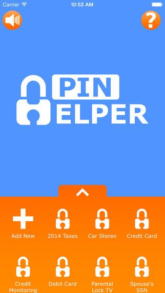 PIN Helper