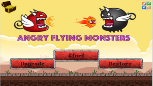 Angry Flying Monsters
