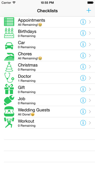 Checklist Maker - Reminds you what to do and when to do