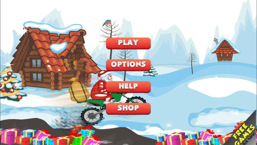 Bouncing Xmas Santa - Run And Collect Candies In A Christmas Arcade FULL by Golden Goose Production