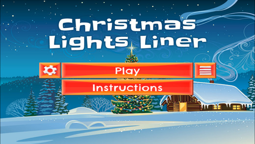 Christmas Lights Liner- PRO - Slide Rows And Match Christmas Lights Super Puzzle Game