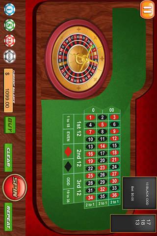 Roulette - Casino Las Vegas screenshot 2