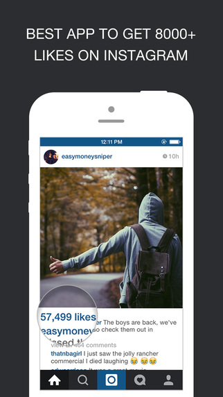 Get Likes for Instagram - Gain More Free Instagram Likes Real Followers Fast