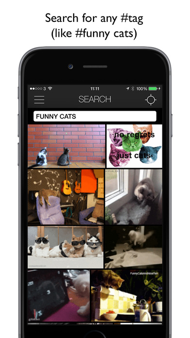 getGIF - browse, search and share GIFs Screenshots