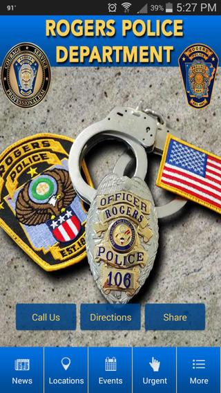 Rogers Arkansas Police