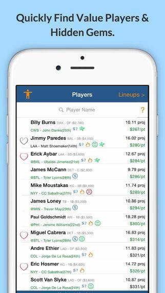【免費運動App】Optimal Lineups for FanDuel-APP點子