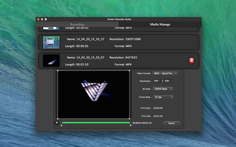 Screen Recorder Studio Screenshot - 5